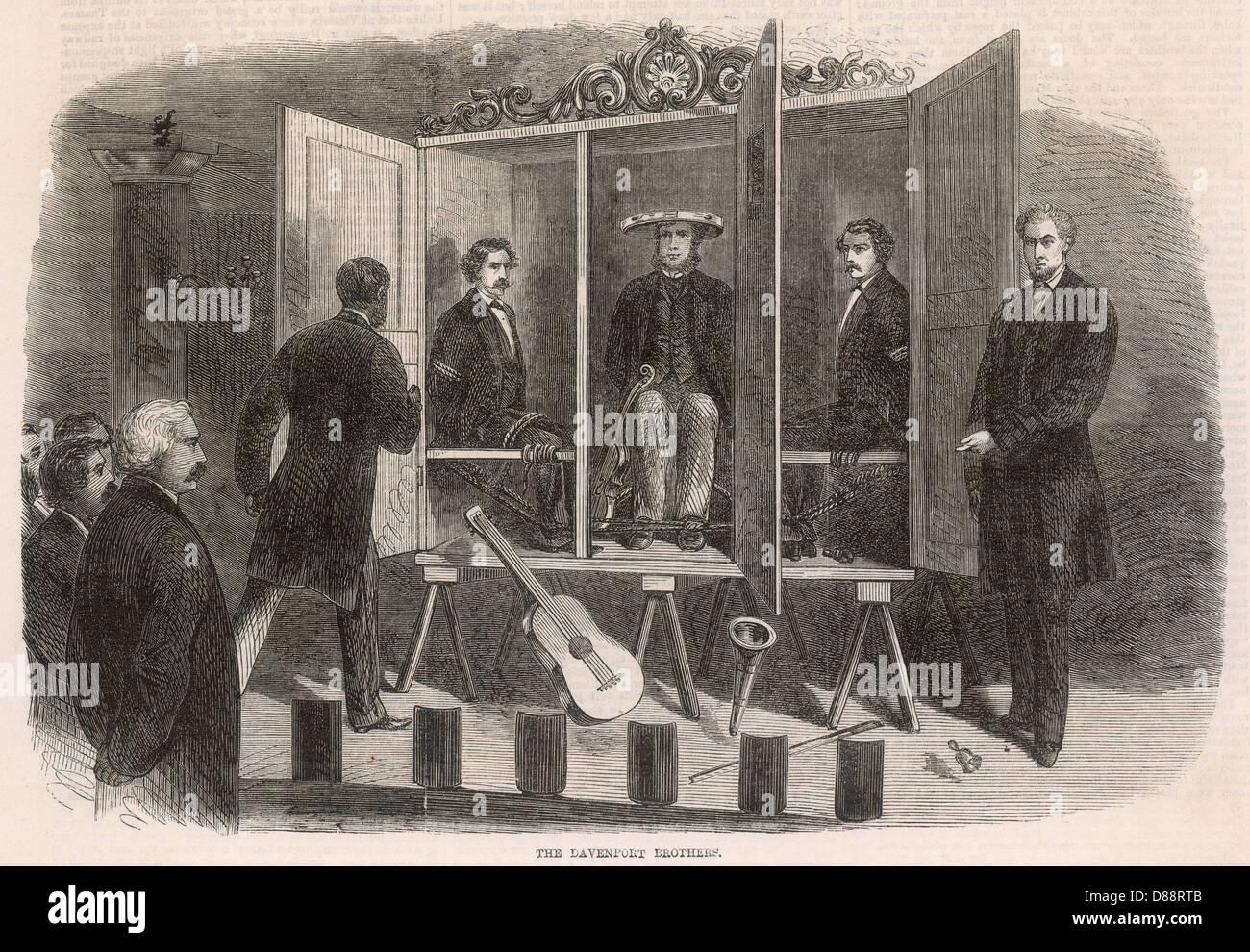 Davenport Brothers - Stock Image