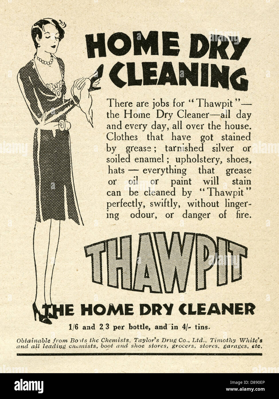 advert for cleaner
