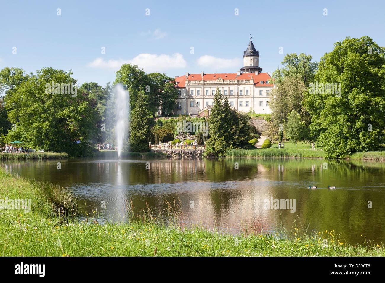 Schloss Wiesenburg, Brandenburg, German - Stock Image