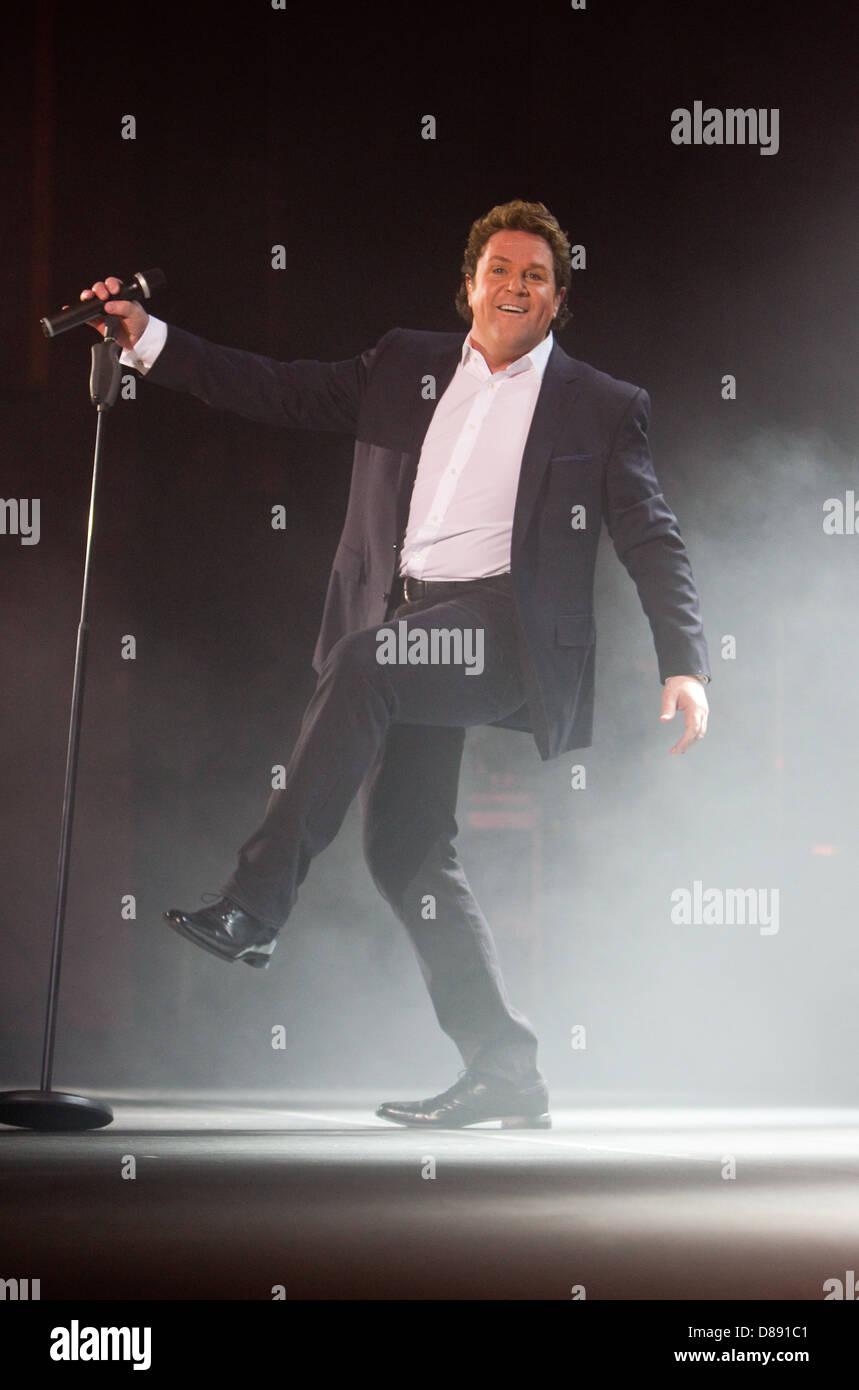 Michael Ball live at the Hammersmith Apollo - Stock Image
