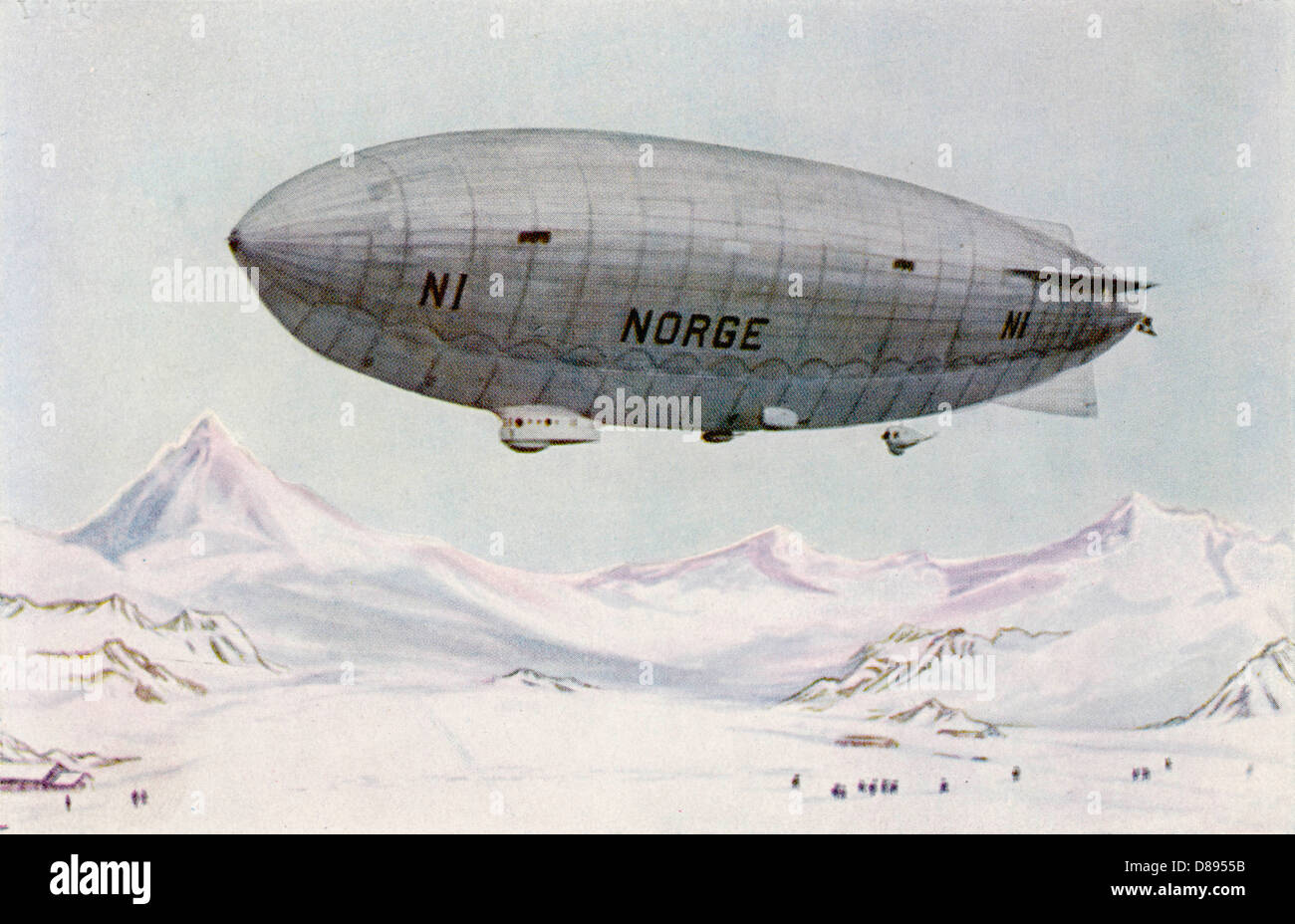 Norge In Arctic - Stock Image