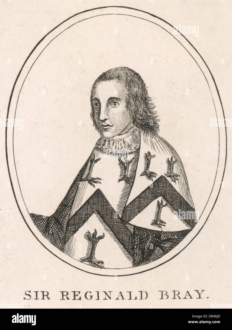 Sir Reginald Bray - Stock Image