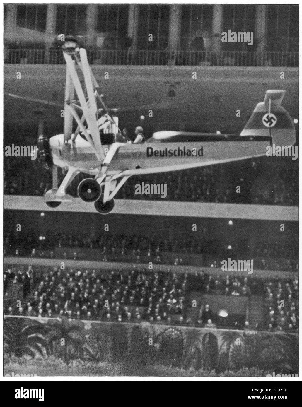 Focke Helicopter 1 - Stock Image