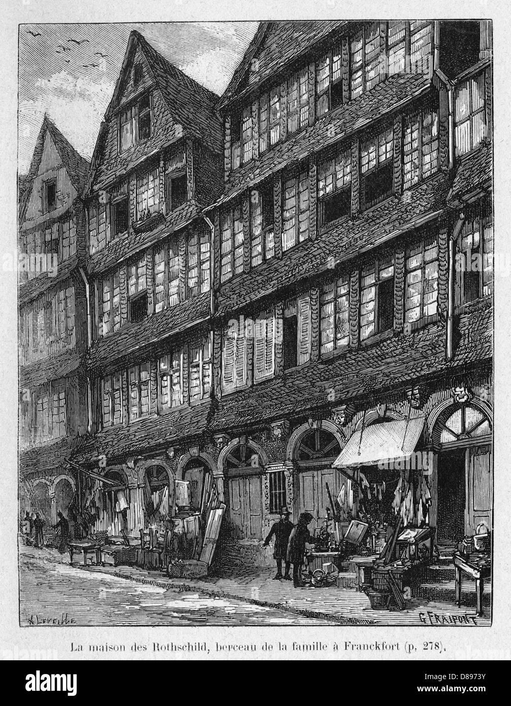 Rothschild Home - Stock Image
