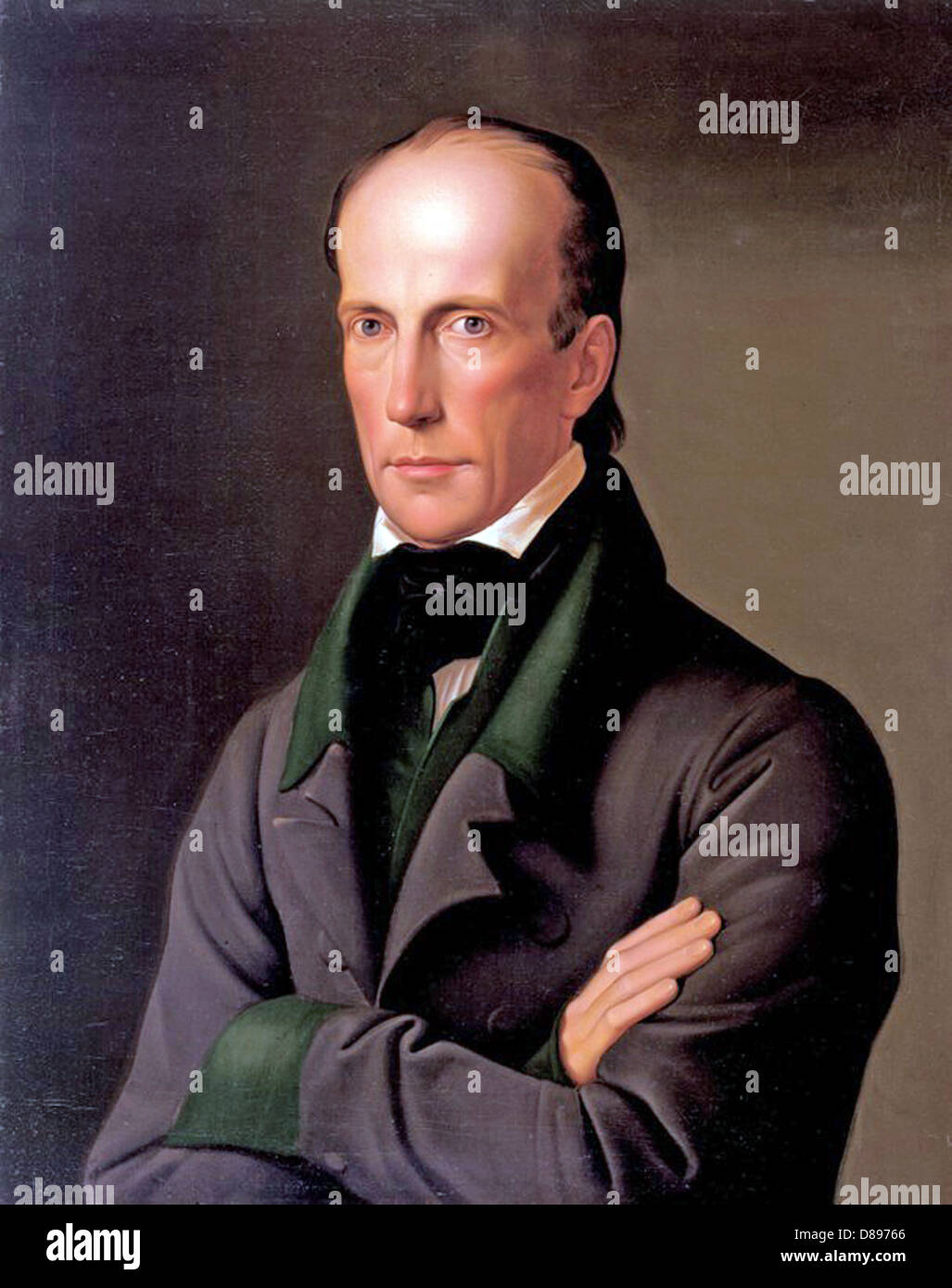 ARCHDUKE JOHN OF AUSTRIA (1782-1859) member of the Habsburg Dynasty painted in 1828 by Leopold Kupelwieser - Stock Image