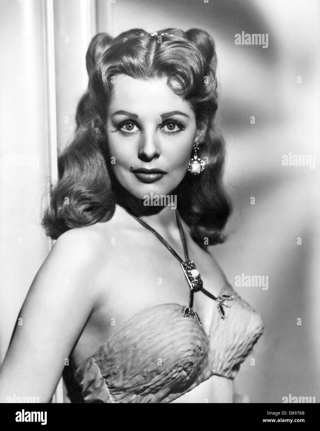 DESERT LEGION 1953 Universal Pictures film with Arlene Dahl - Stock Image