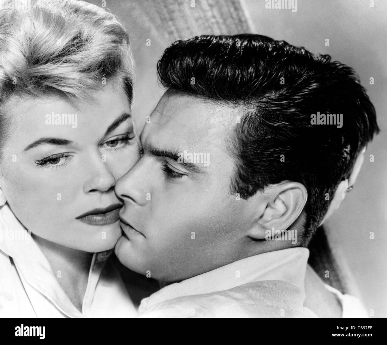 JULIE  1956 MGM film with Dois Day and Louis Jordan - Stock Image