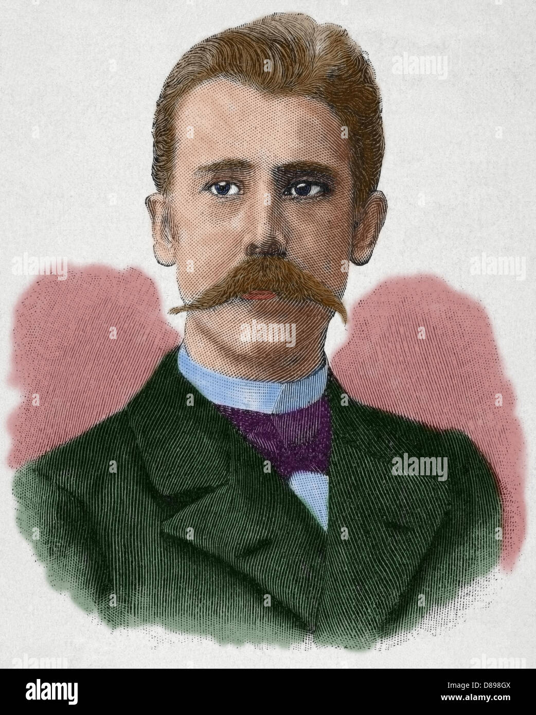 Per Hallstrom (1866-1960). Swedish author, short-story writer, dramatist, poet and member of the Swedish Academy. - Stock Image