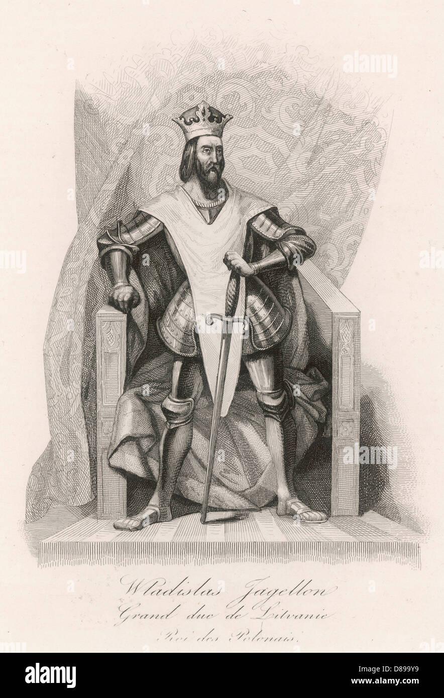 Wladyslaw Ii Of Poland - Stock Image