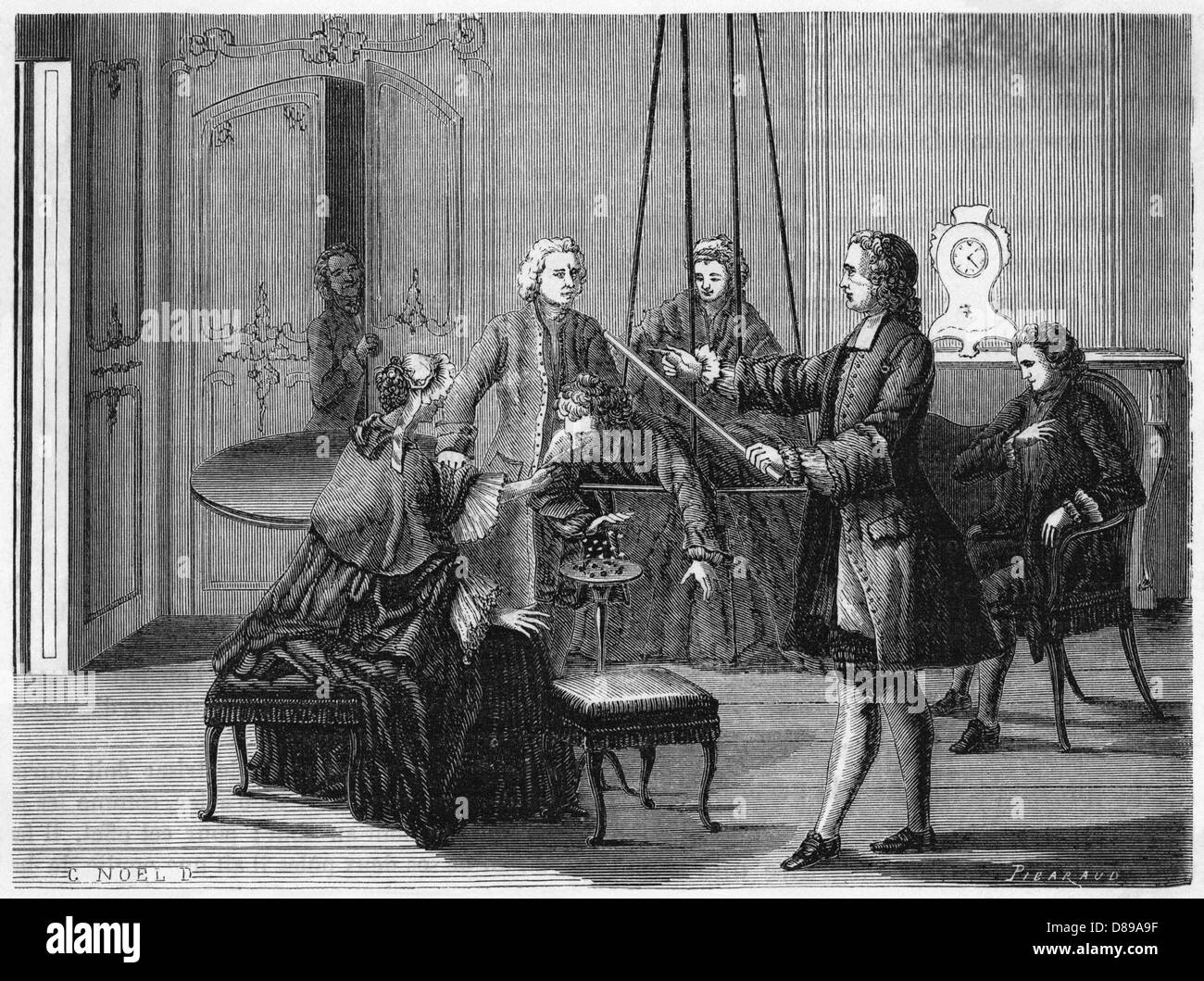 Watsons Experiment - Stock Image