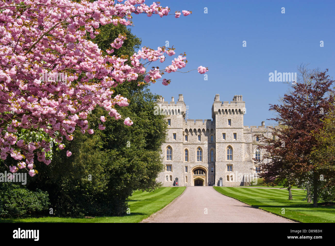 Windsor Castle, Berkshire, UK. - Stock Image