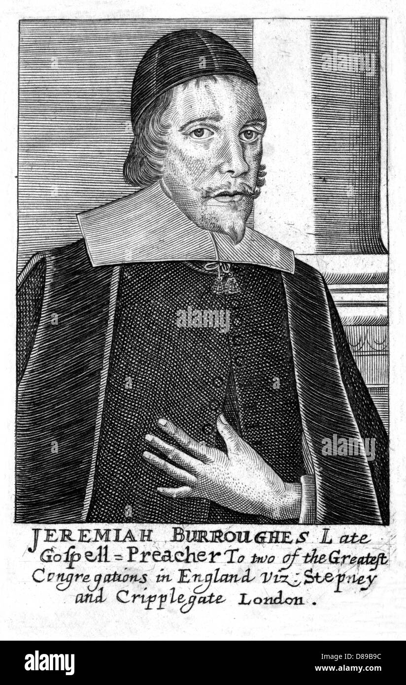 Jeremiah Burroughs - Stock Image