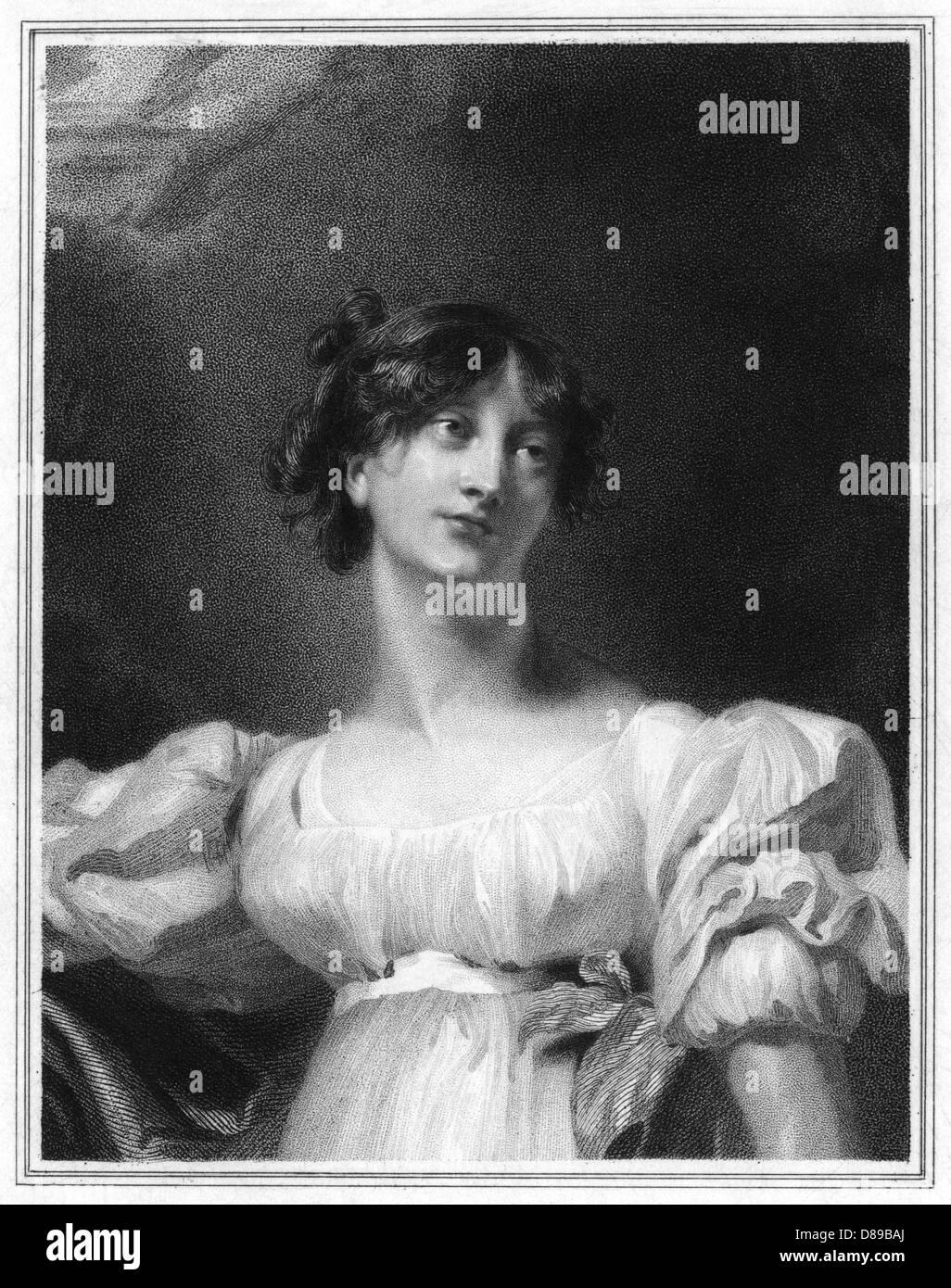 Lady Charlotte Bury 1 - Stock Image