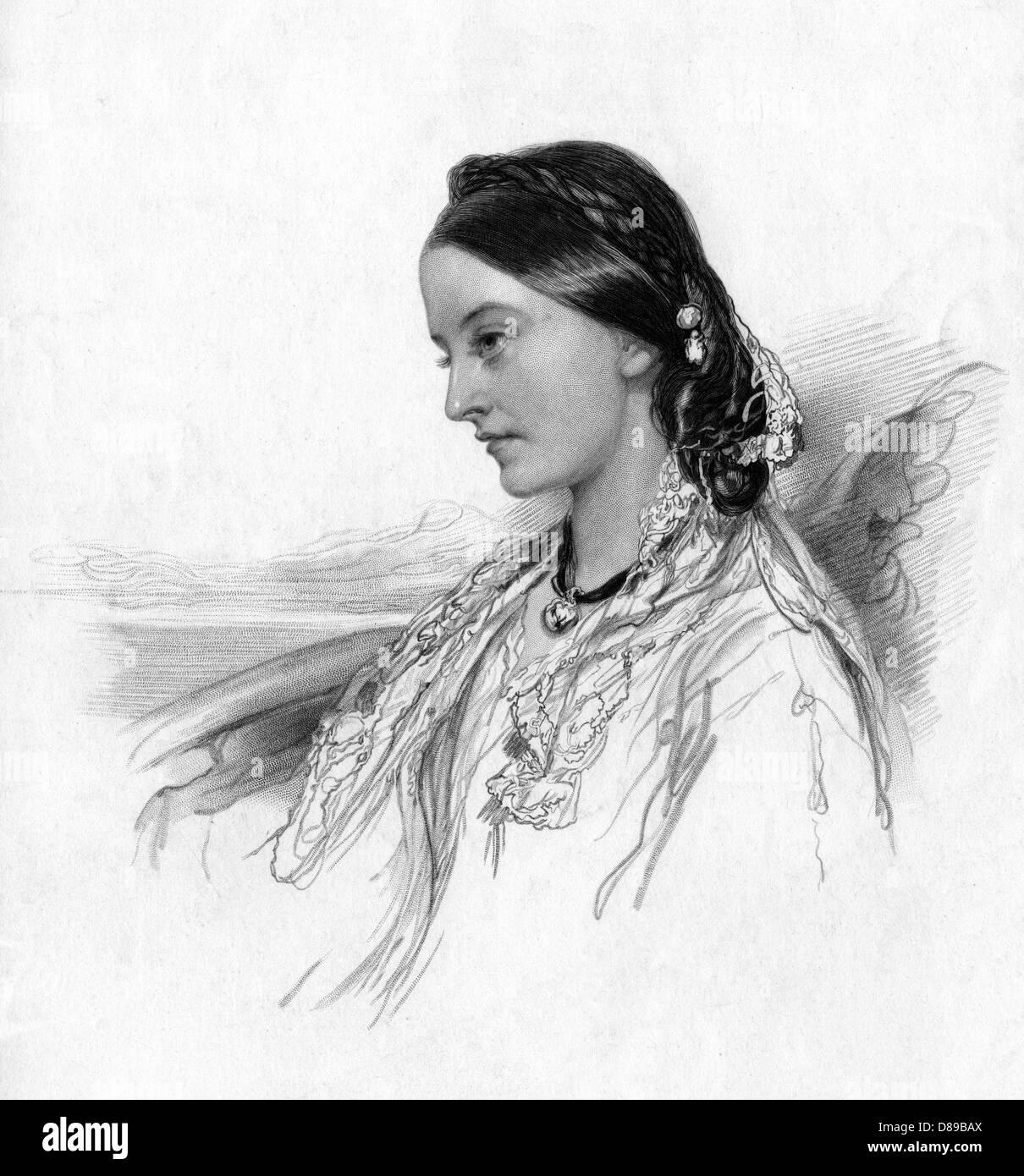 Lady Charlotte Bury 3 - Stock Image