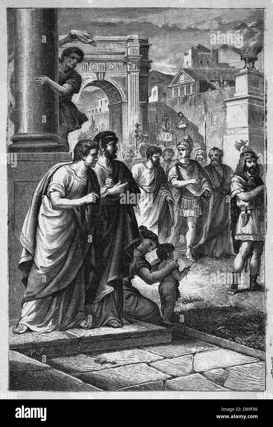 Scipio Africanus 2 - Stock Image