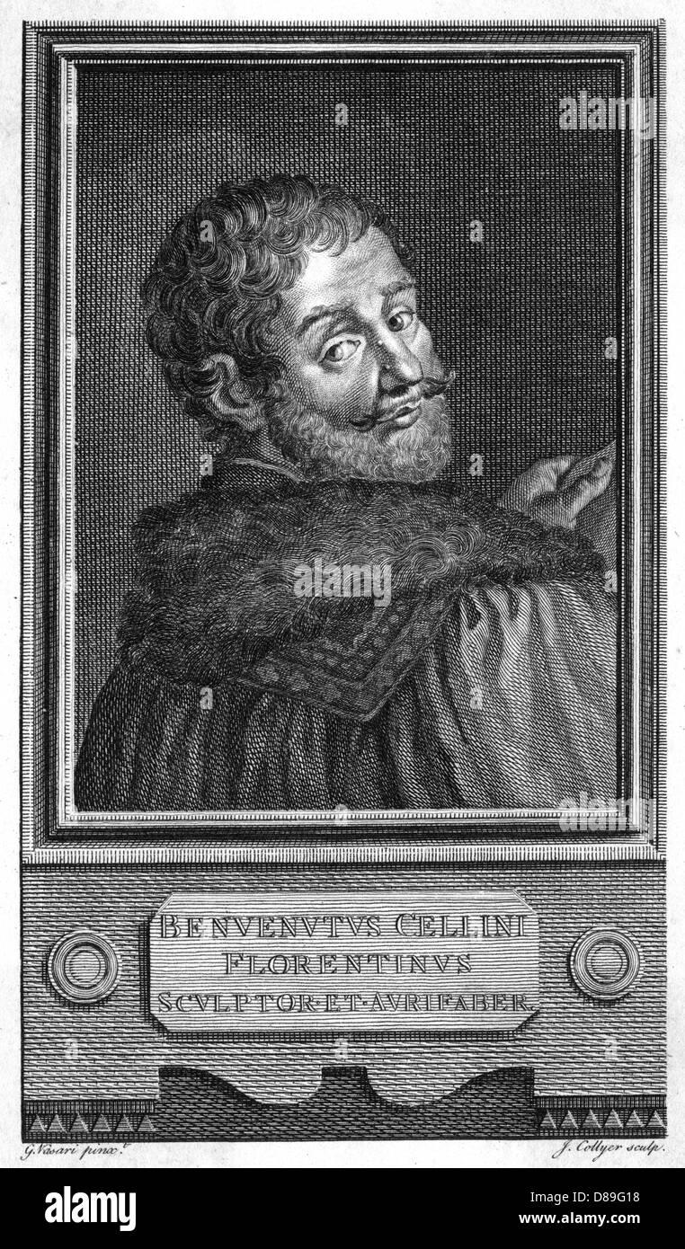 Benvenuto Cellini 4 - Stock Image