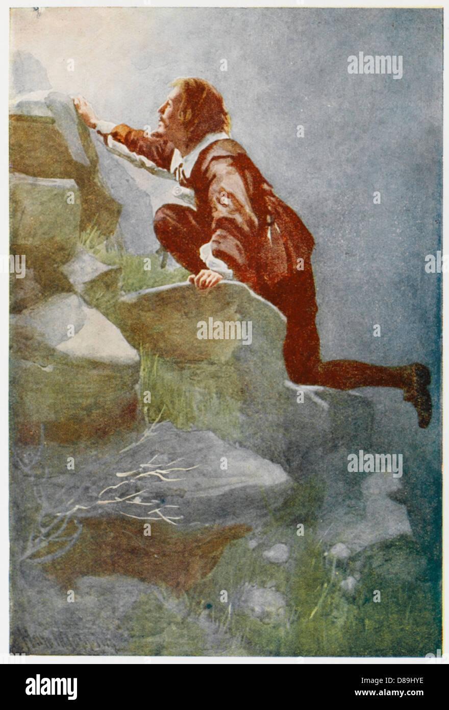 Pilgrims Progress 7 - Stock Image