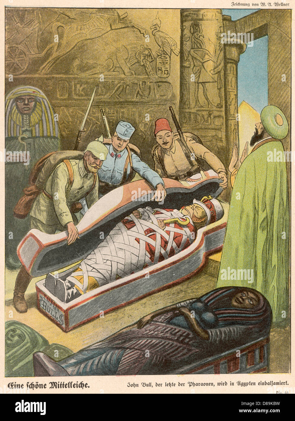 John Bulls Mummy - Stock Image