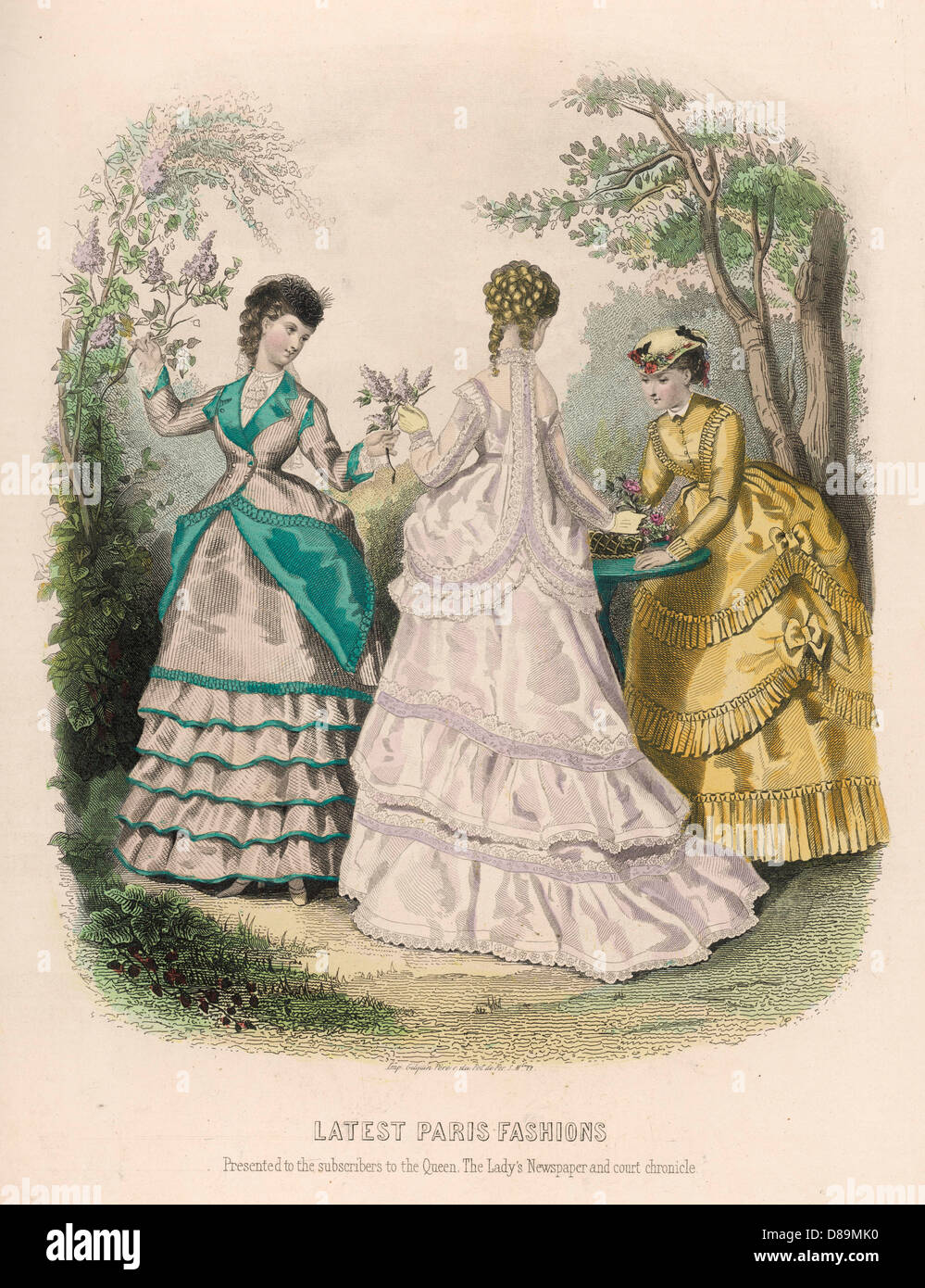 Costume May 1869 - Stock Image