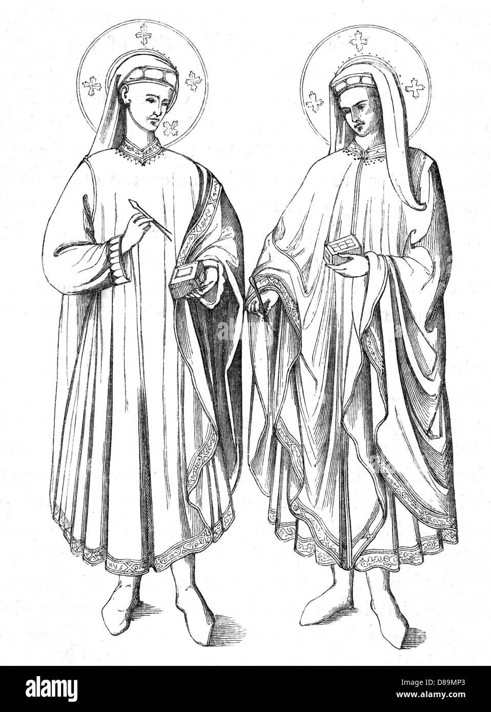 Cosmas And Damian - Stock Image