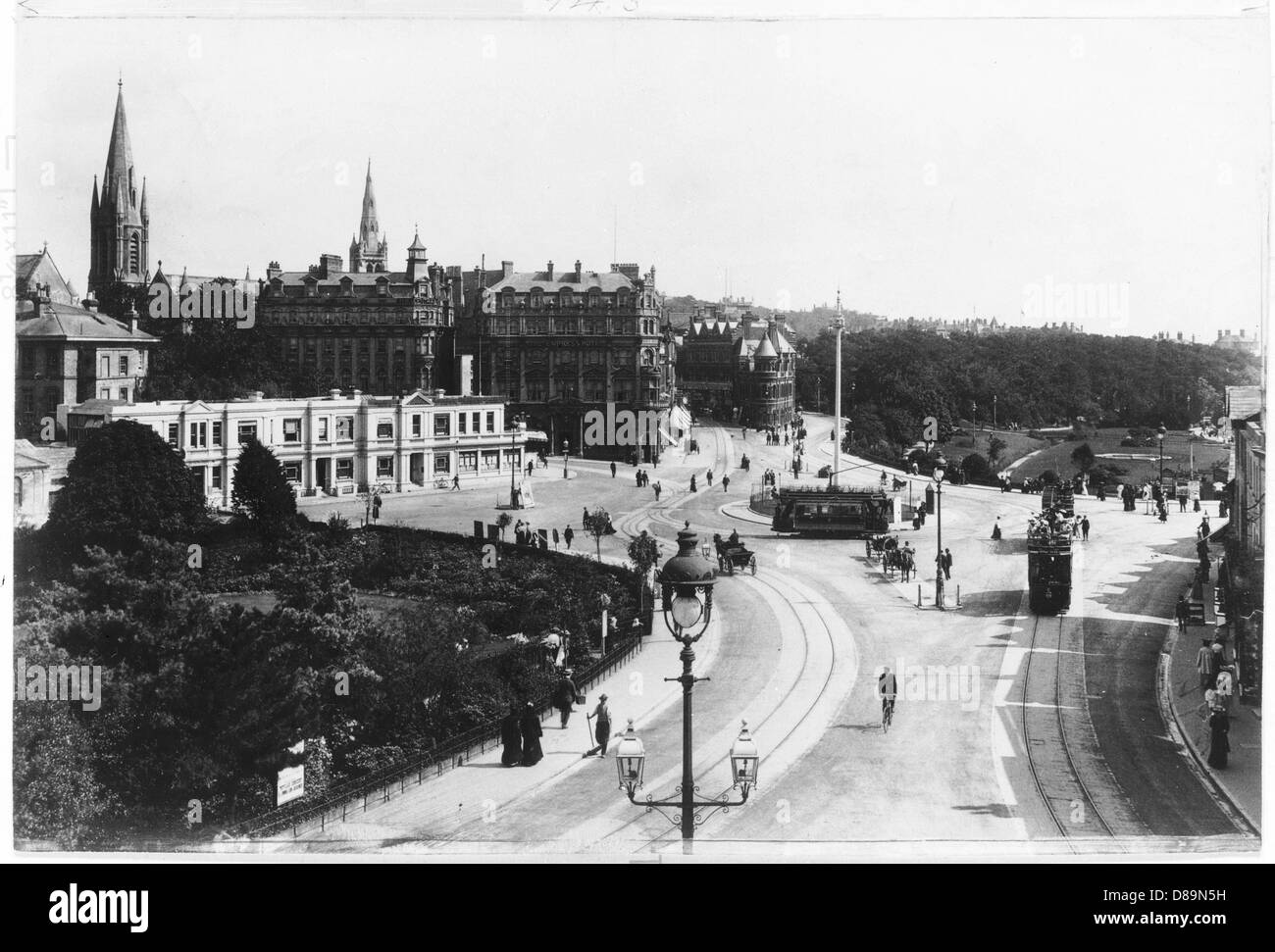 Bournemouth 1904 - Stock Image