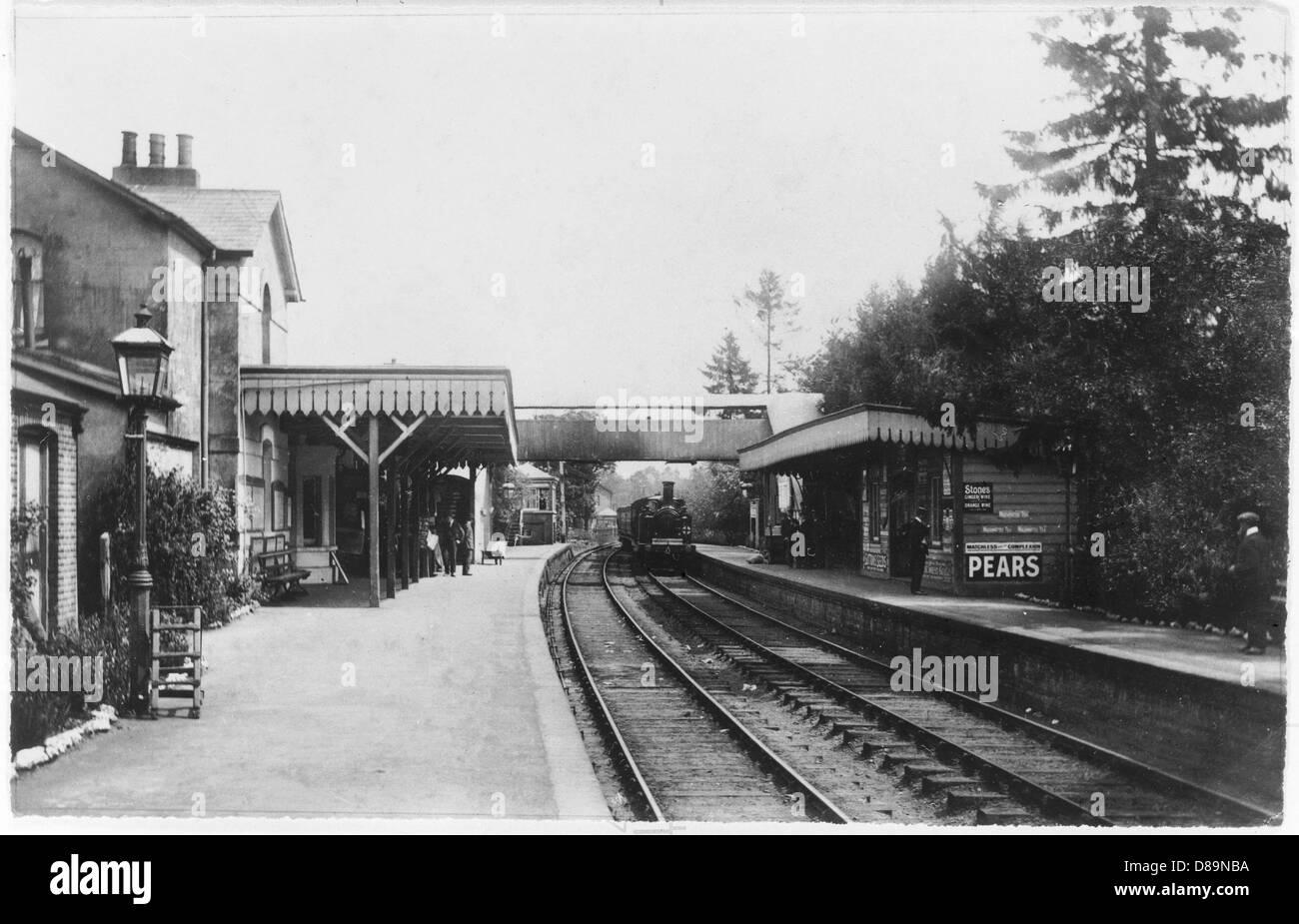 Cranleigh 1908 - Stock Image