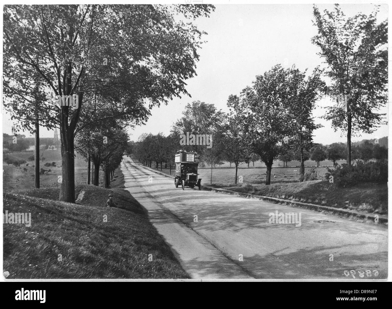 Earlswood 1918 - Stock Image