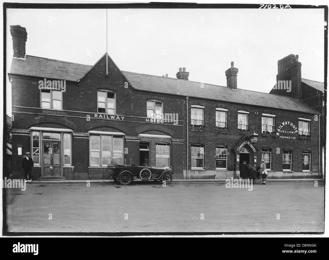 Hunstanton 1921 - Stock Image