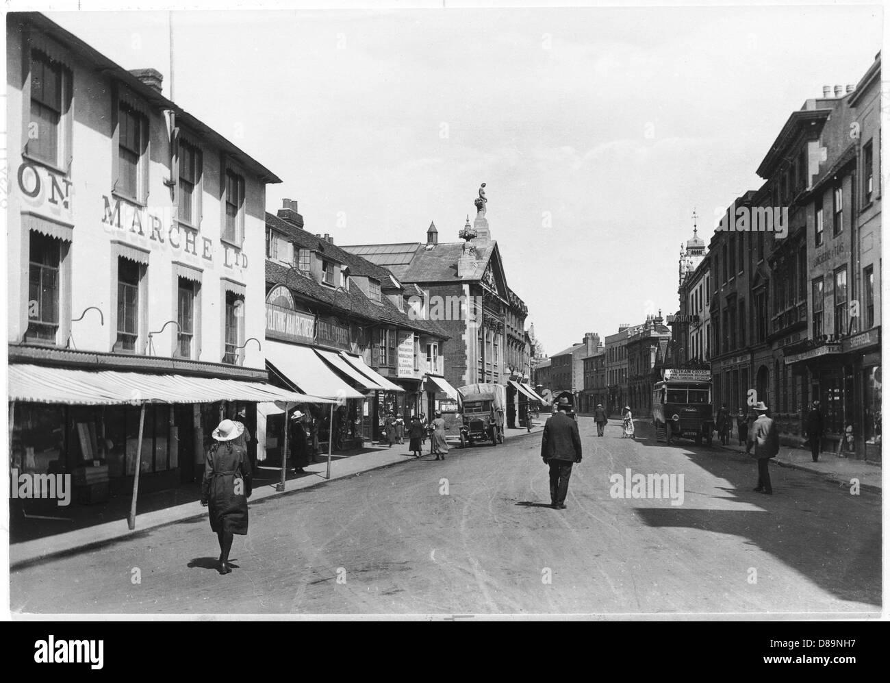 Hertford 1921 - Stock Image