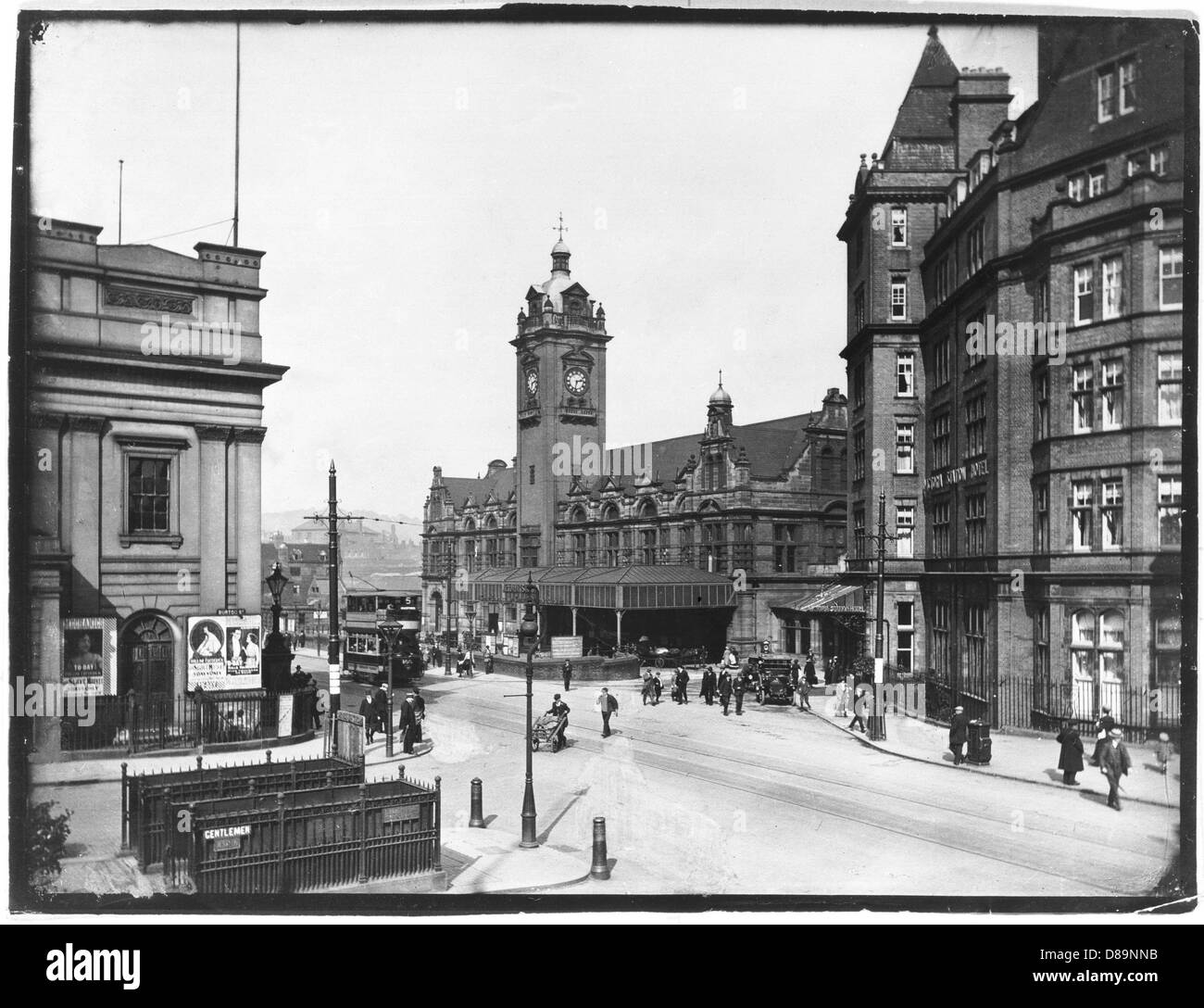 Nottingham 1920 - Stock Image