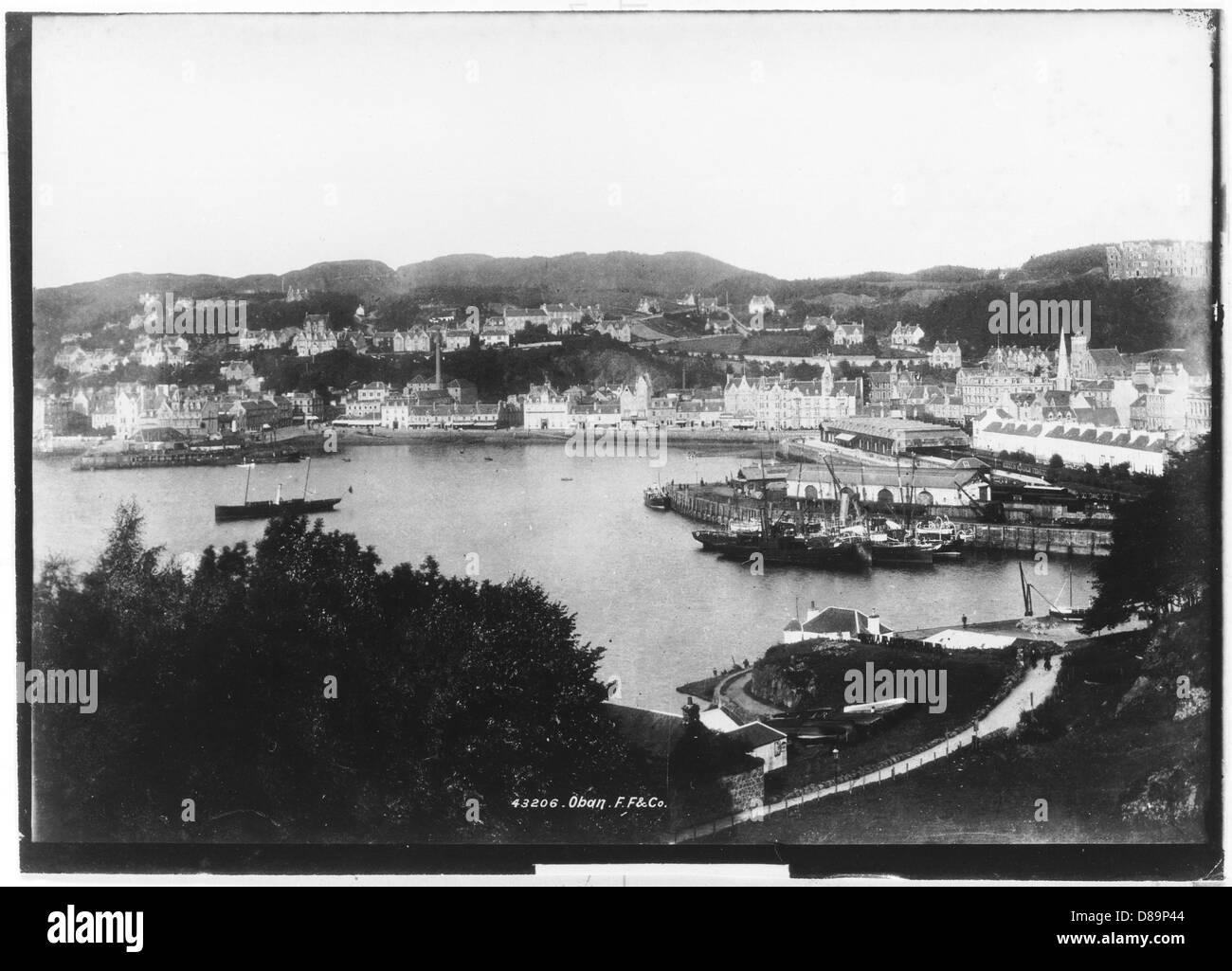 Oban 1899 - Stock Image