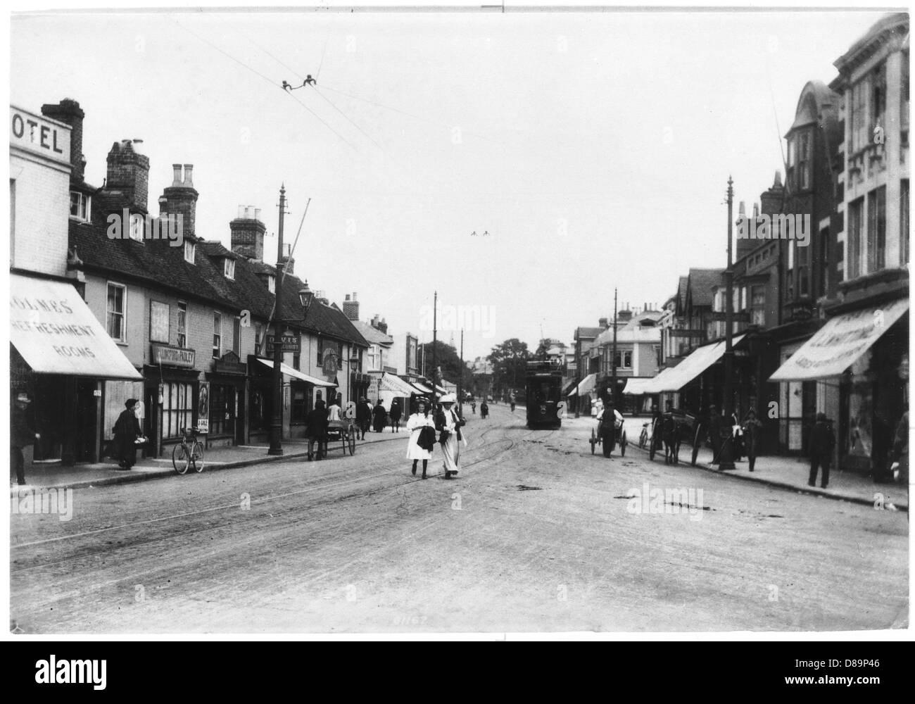 Poole 1909 - Stock Image