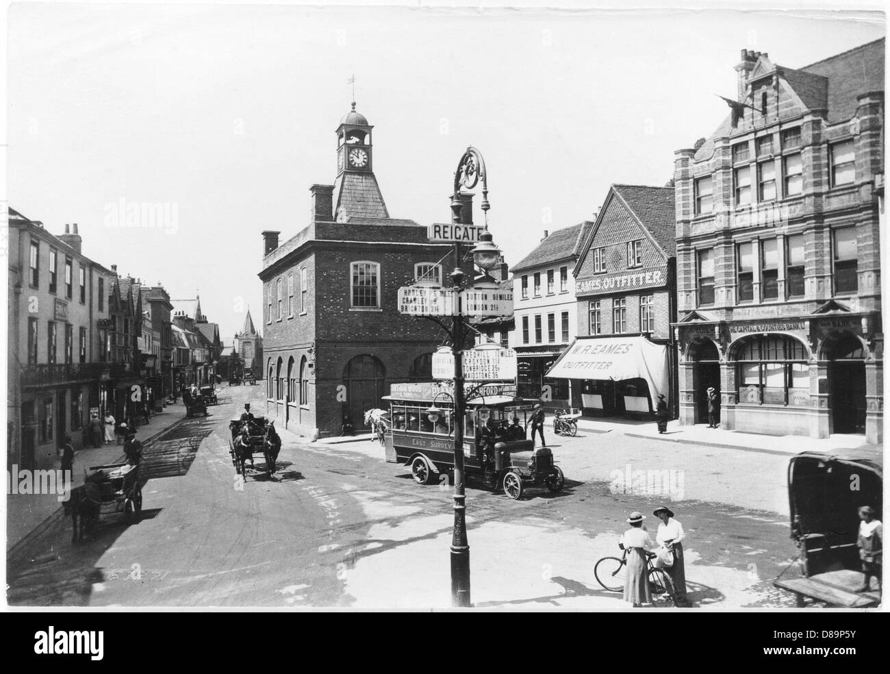 Reigate 1917 - Stock Image