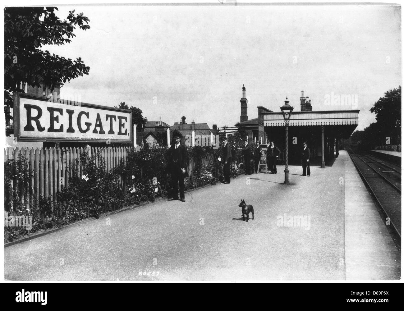 Reigate 1909 - Stock Image