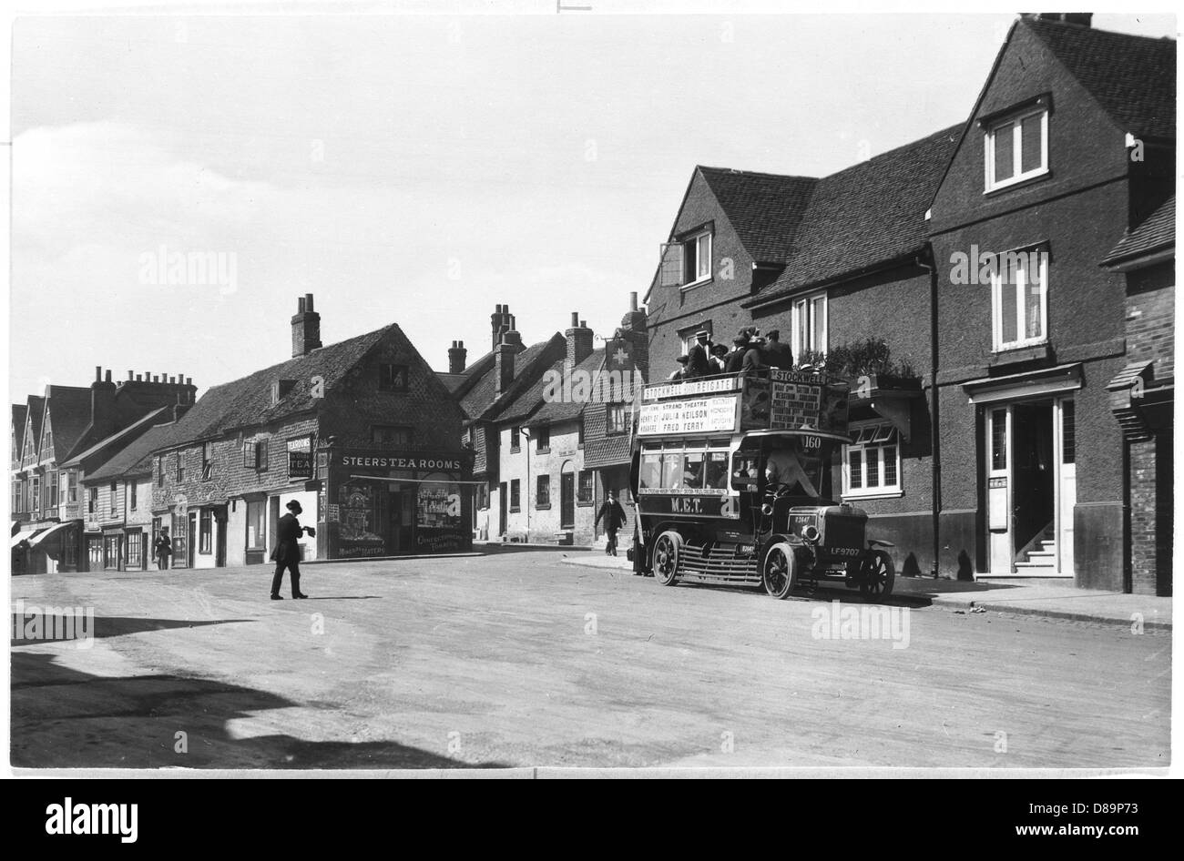 Reigate 1921 - Stock Image