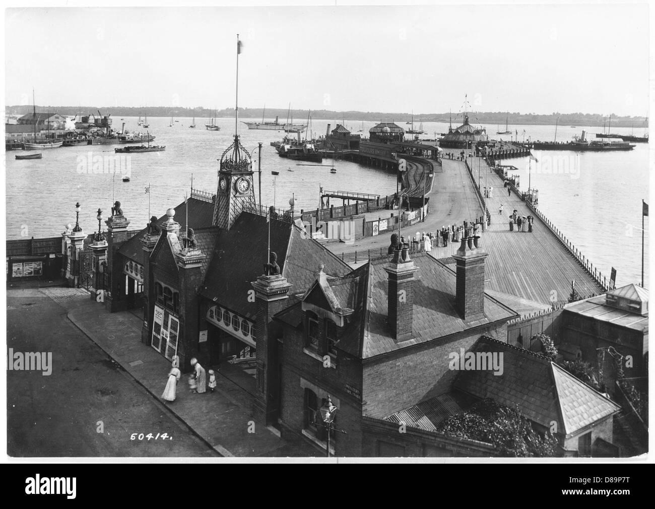 Southampton 1909 - Stock Image