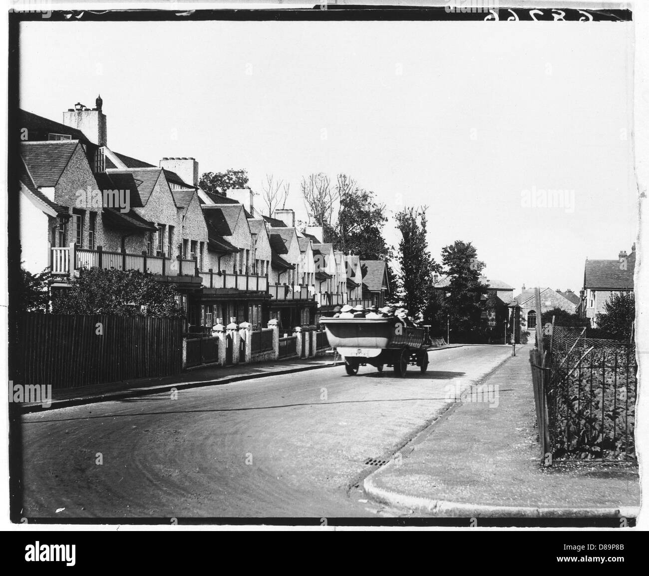 Seaview 1918 - Stock Image