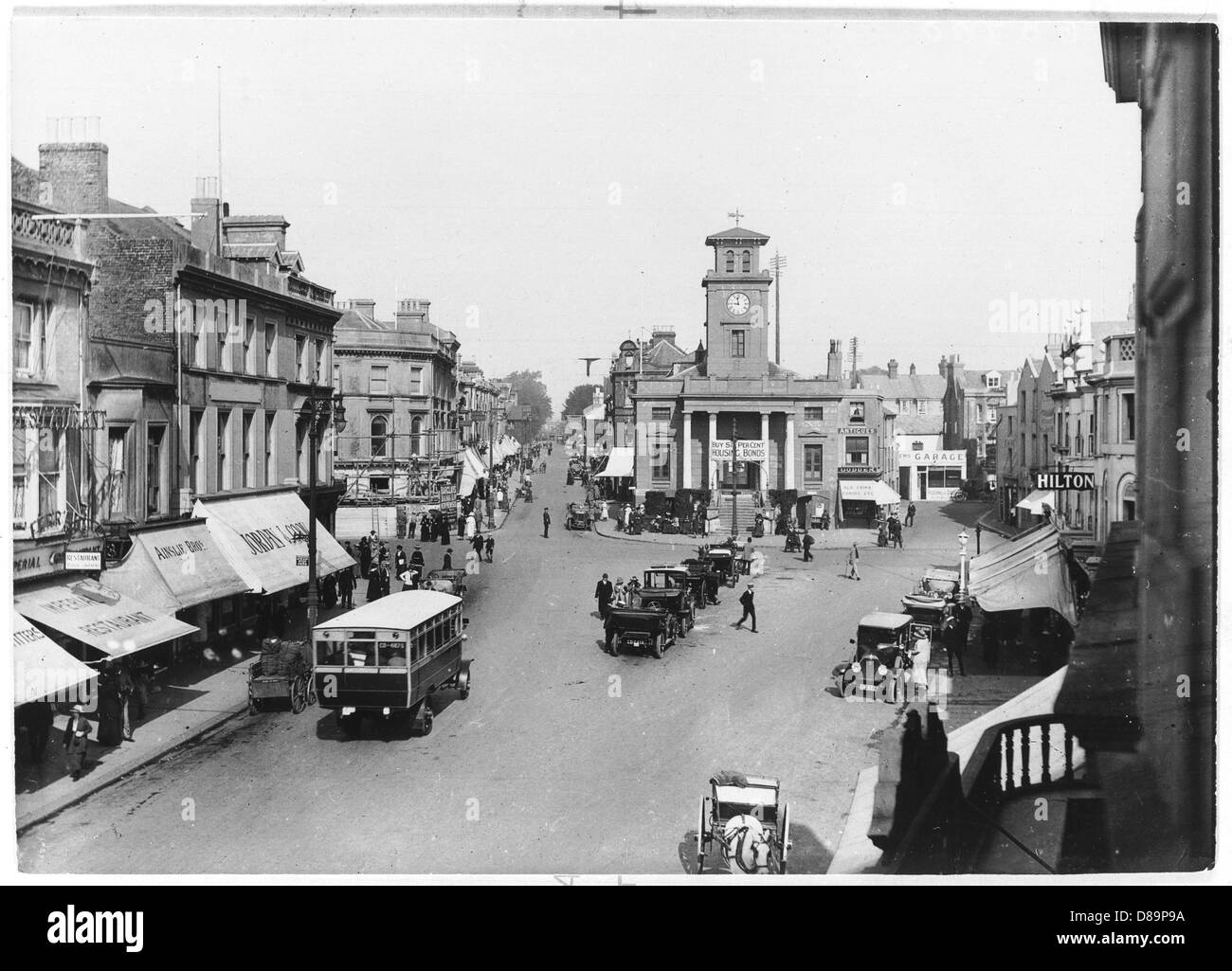 Woking 1918 - Stock Image