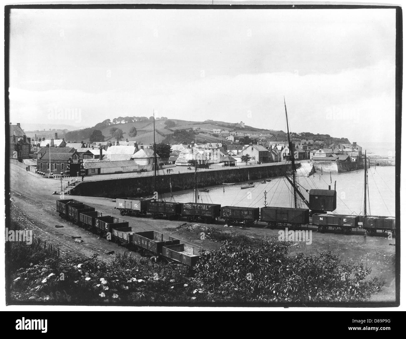 Watchet 1921 - Stock Image