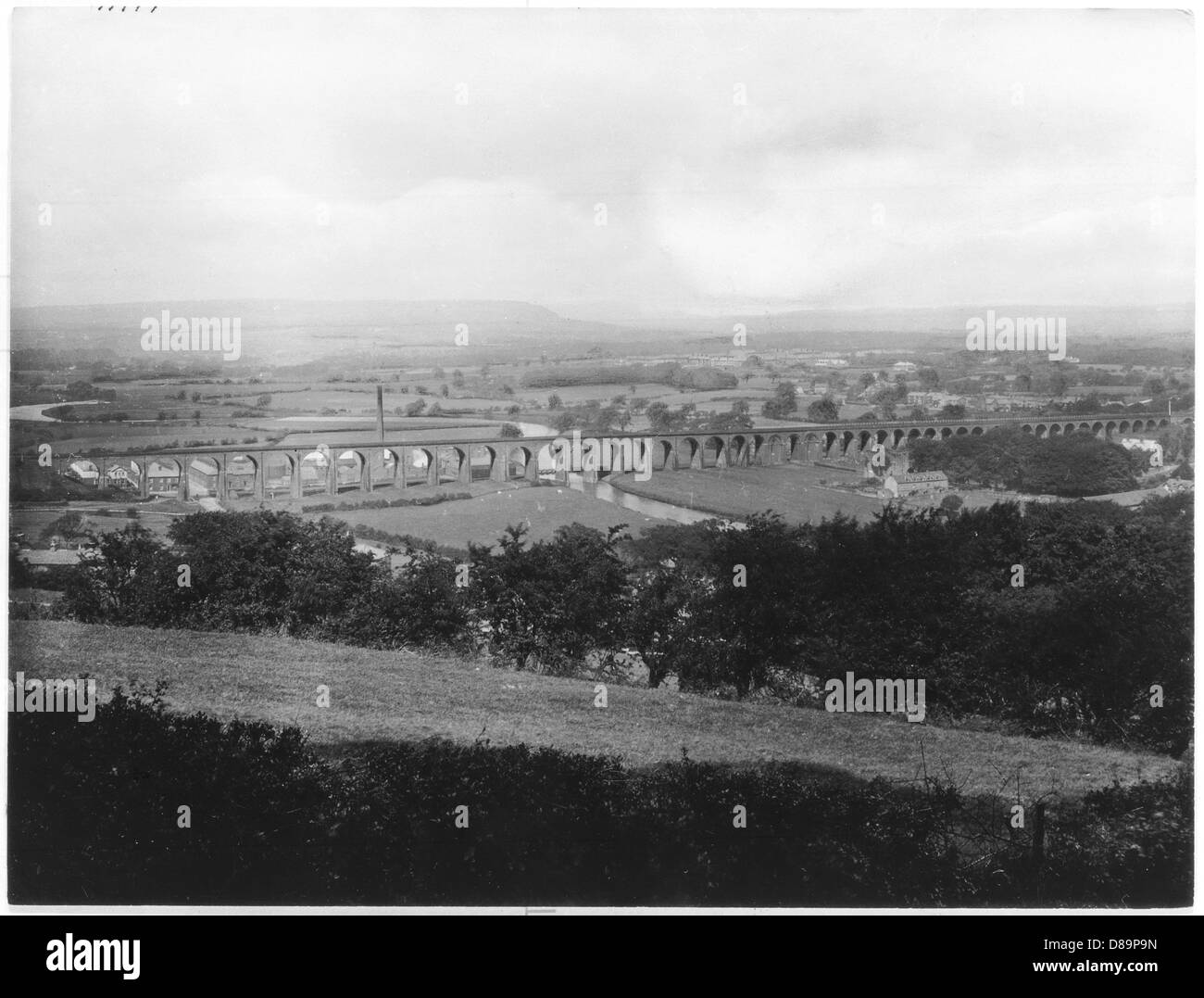 Whalley 1921 - Stock Image