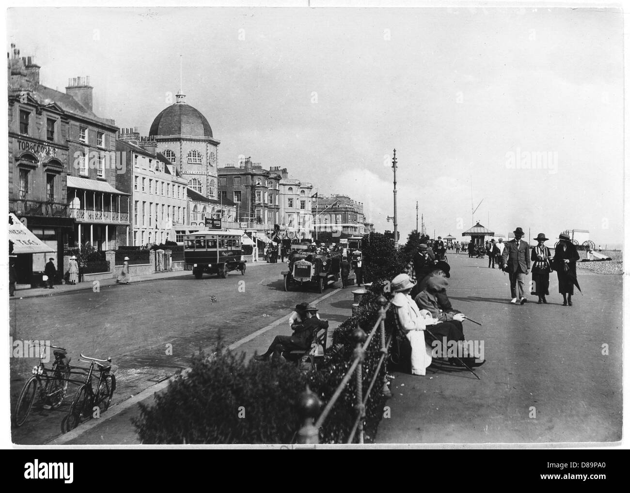 Worthing 1918 - Stock Image