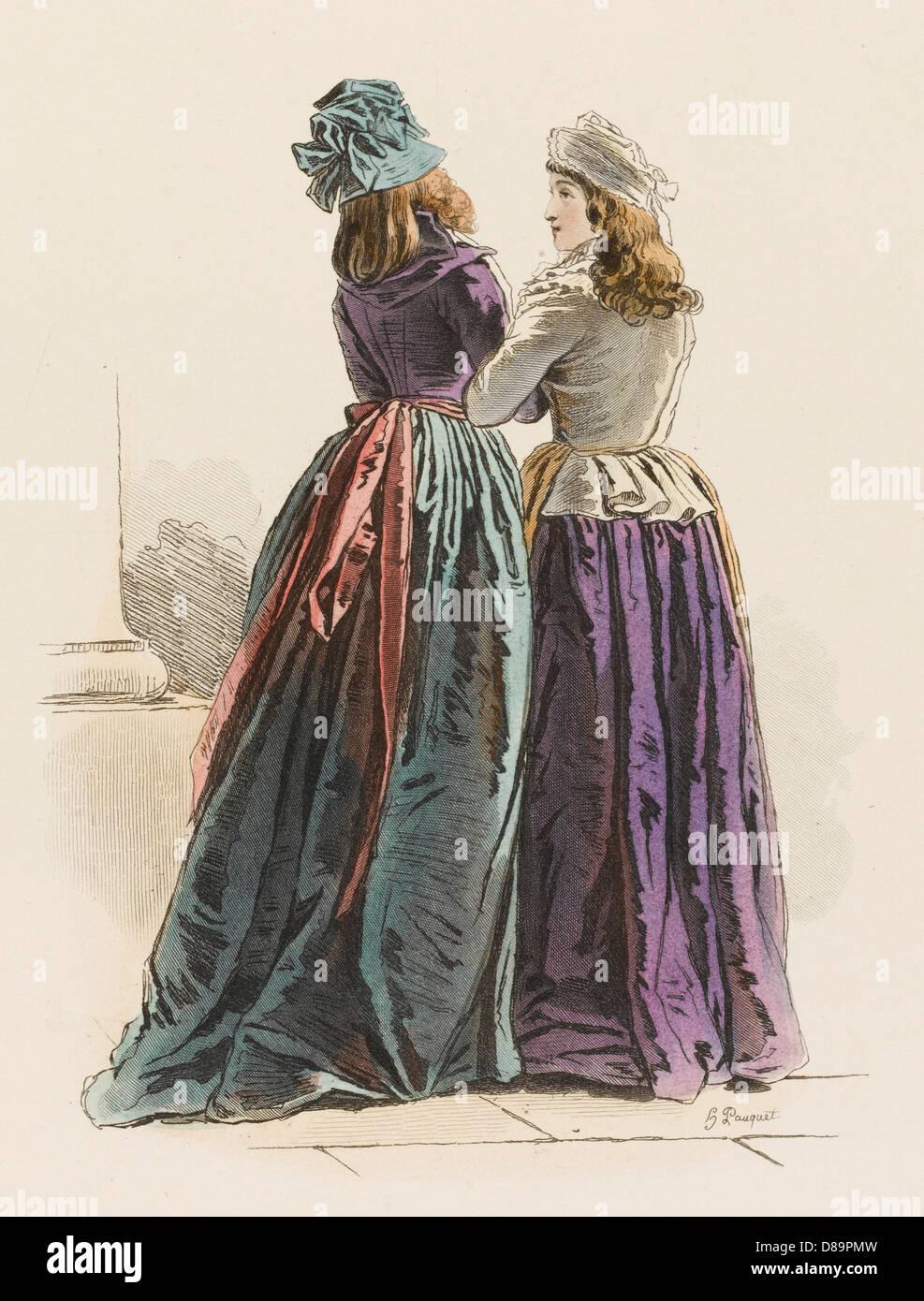 Frenchwomen 1793 - Stock Image