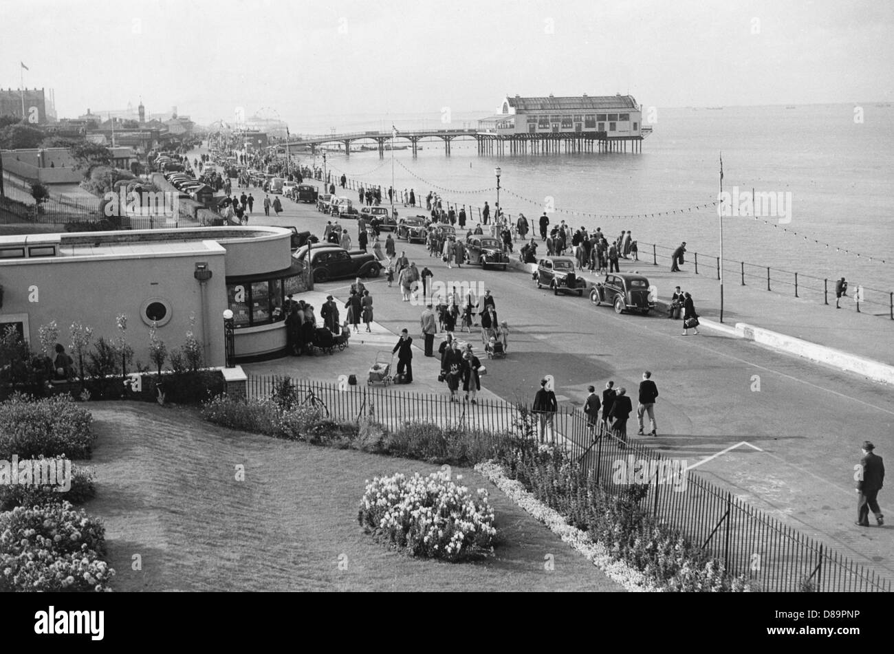 Parade At Cleethorpes - Stock Image