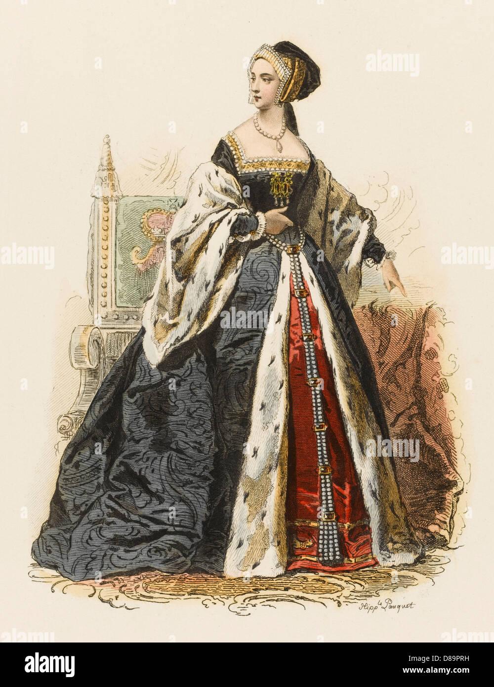 Anne Boleyn - Stock Image