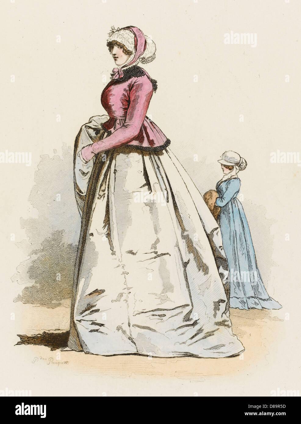 Englishwomen 1800 - Stock Image