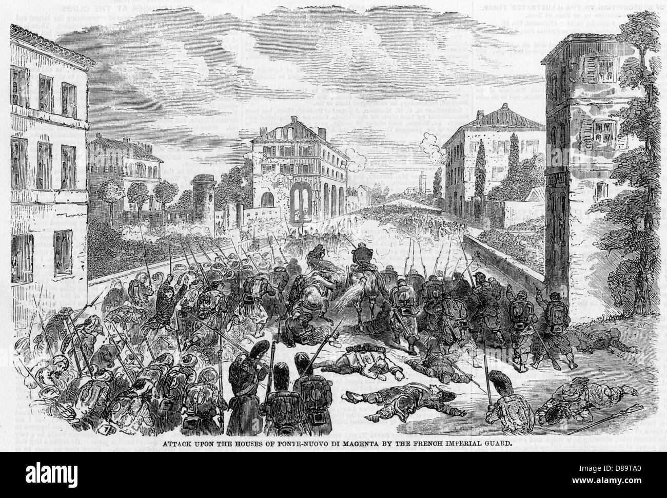 Battle Of Magenta 2 - Stock Image