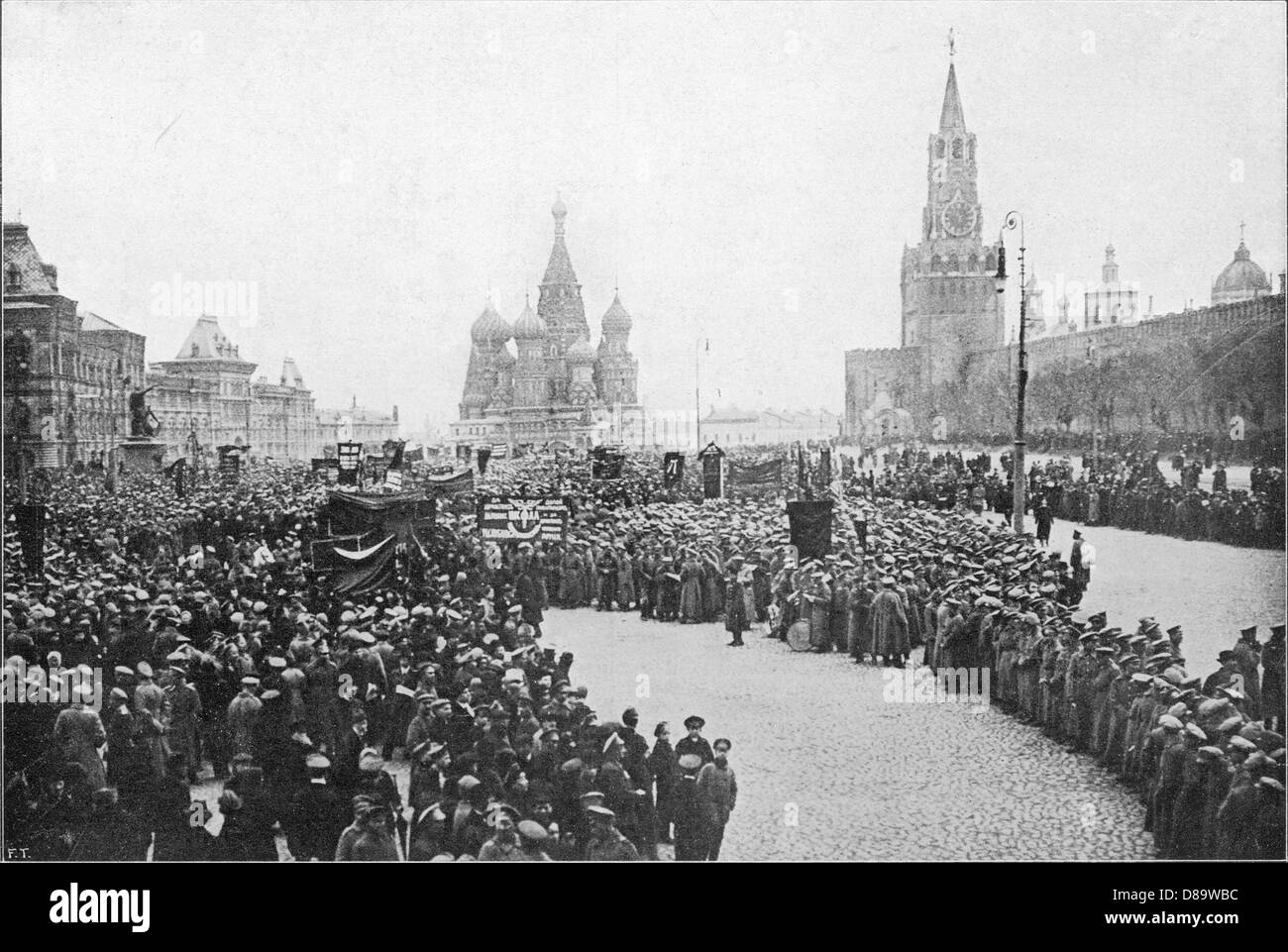 Patriotic Demo Moscow - Stock Image