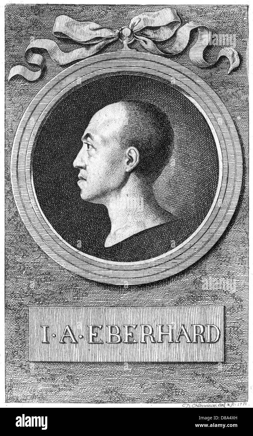 Johann August Eberhard - Stock Image