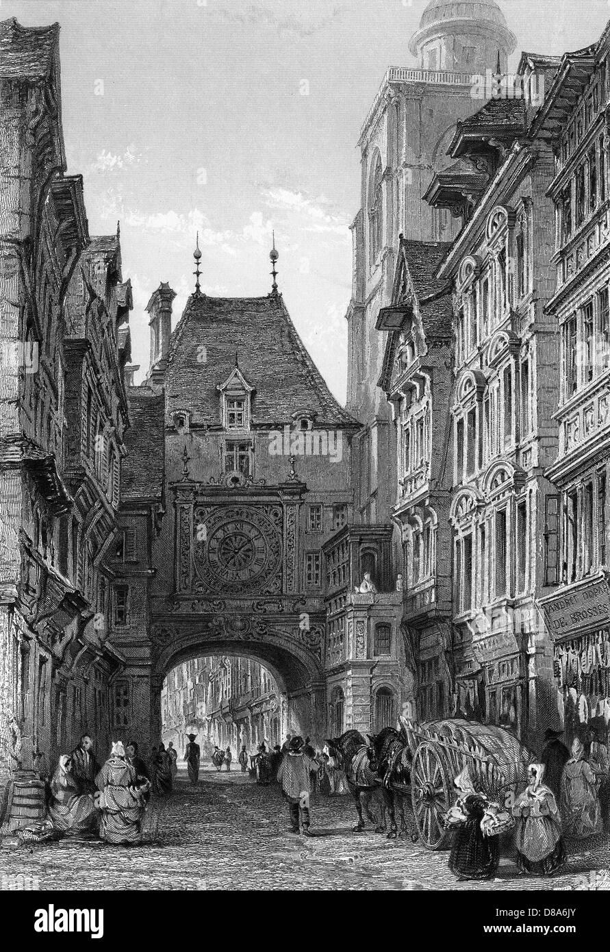 France Rouen - Stock Image
