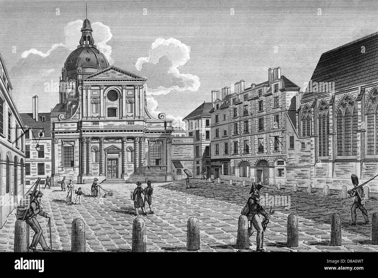 Paris Sorbonne - Stock Image